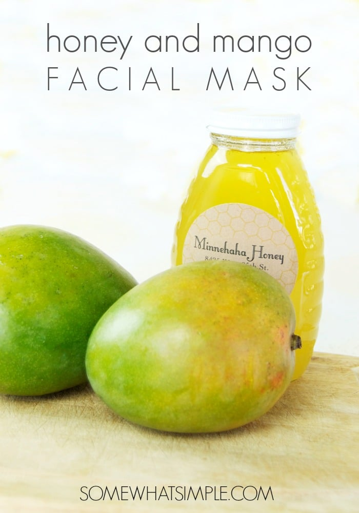Honey & mango face mask