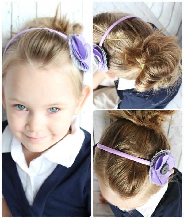Hairstyles For Toddlers Easy : 10 Easy Hairstyles for Girls - Somewhat Simple