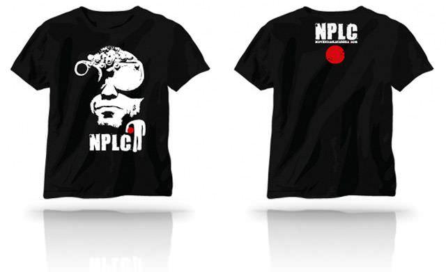 camiseta nplc - no pierdas la cabeza