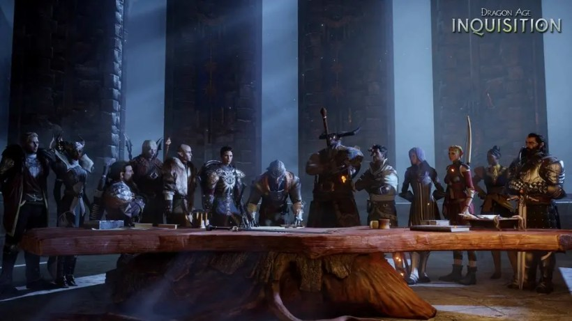 Dragon Age Inquisition Consejo de Guerra.re