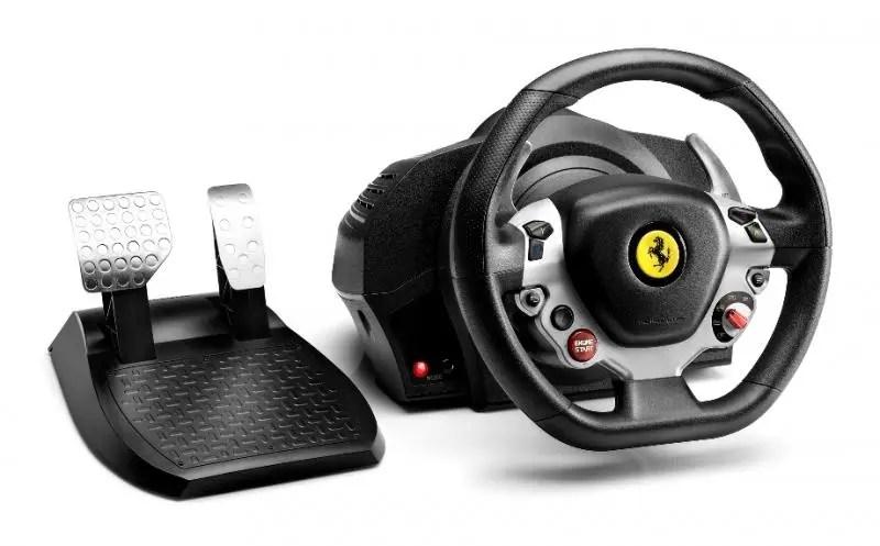 Guía de volantes para Xbox One |TX Racing Wheel Ferrari 458 Italia Edition (3)