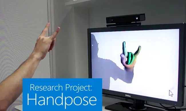 Kinect handpose