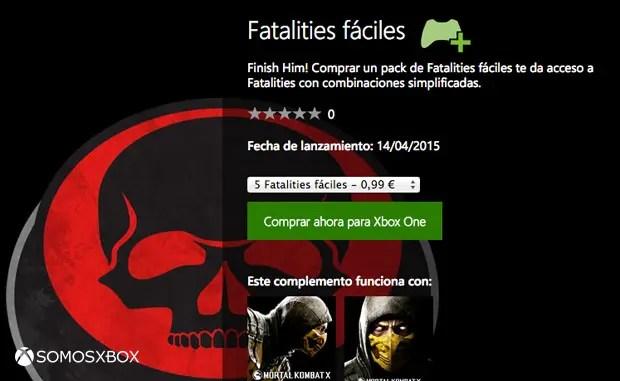 fatalities fáciles