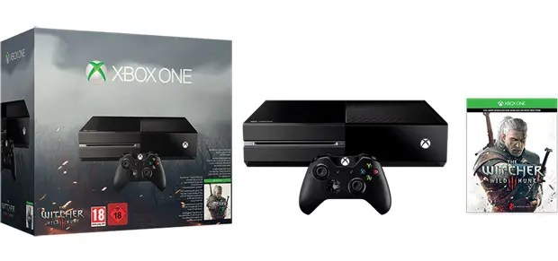 xbox one the witcher copia