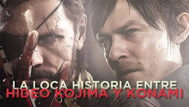 La loca historia entre Hideo Kojima y Konami