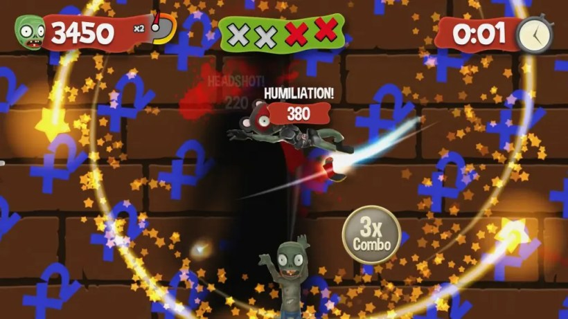 slice zombies for kinect 1