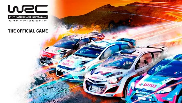 WRC 5 cover