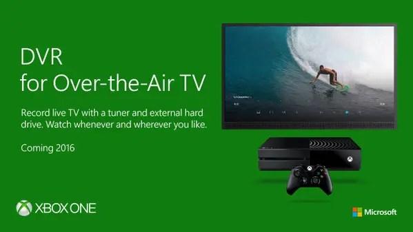 DVR_Xbox One