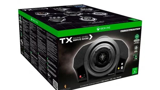 Thrustmaster TX Servo Base Xbox One box