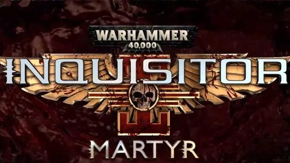 Warhammer 40K Inquisitor - Martyr