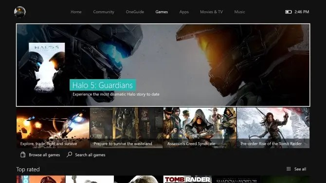 store en la new xbox one experience
