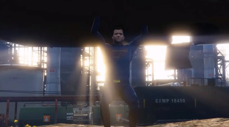 Batman v. Superman en GTA V