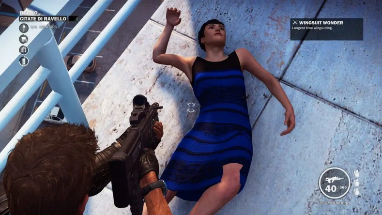 Just Cause 3 The Dress