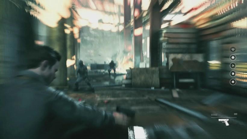 El juego tiene un montón de efectos que lo hacen impresioante (como la explosión de la imagen) en movimiento, pese a la borrosidad general.