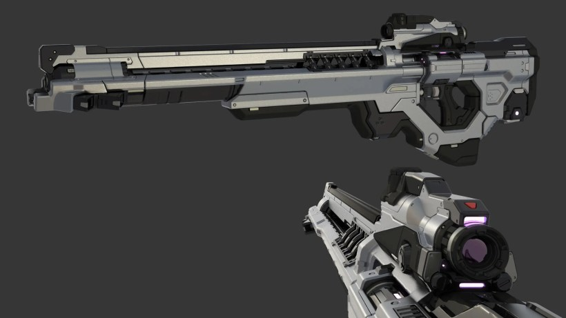 Cameron Kerby - Vortex Rifle Render