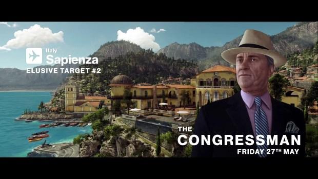 Ya disponible El Congresista, el segundo Objetivo Escurridizo de Hitman