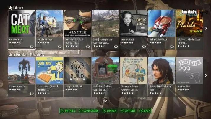 Fallout 4 mods