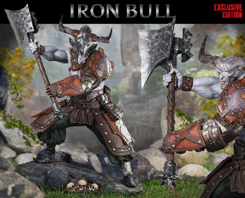 Figura Dragon Age Inquisition Iron Bull