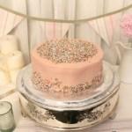 Baby Girl's Birthday Cake