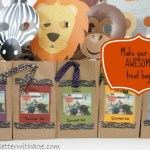 Safari Treat Bags and Birthday Banner