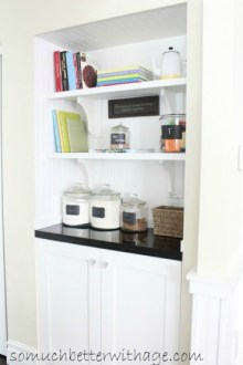 closet to butler pantry www.somuchbetterwithage.com