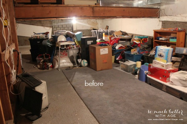 Before crawlspace