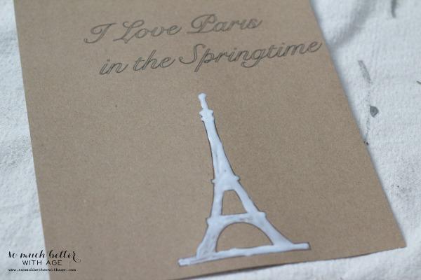 Eiffel tower / Newbie silhouette cameo tutorial