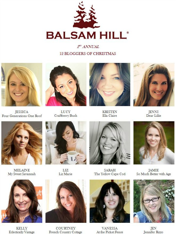 2nd Annual Balsam Hill 12 Bloggers of Christmas
