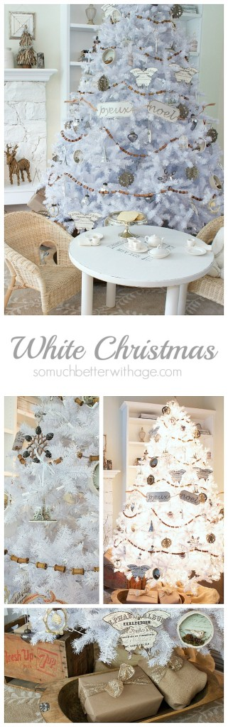 Dreaming of a White Christmas by somuchbetterwithage.com