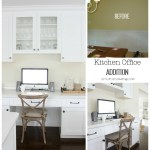 Butler Pantry and Kitchen Office Updates