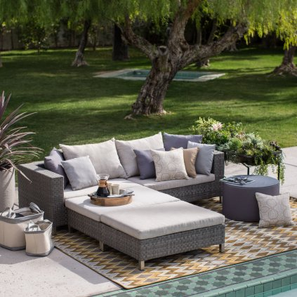 Home Decor- The Best Most Comfortable Outdoor Furniture --Wicker-Sofa-Sectional-Set