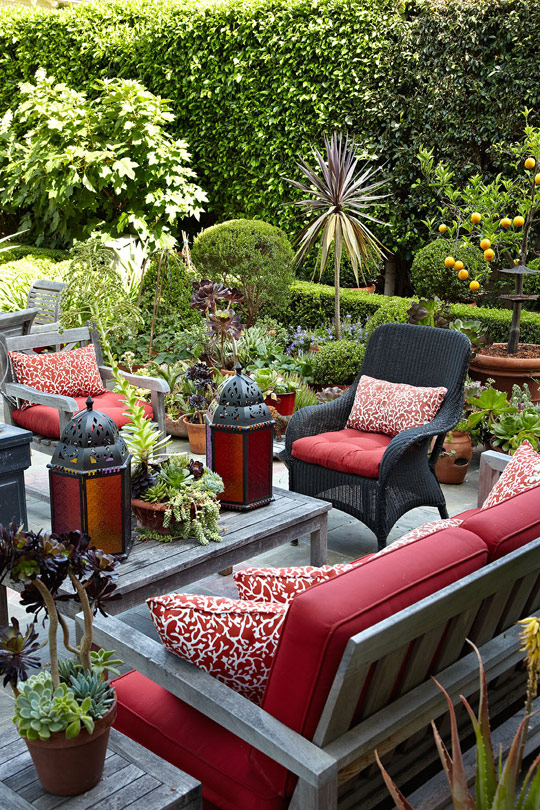 Home-outdoor-living-colorful-patio-red-furniture