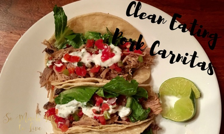 Pork Carnitas Recipe – Clean Eating – 21 Day Fix Approved Recipe