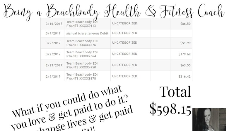 One Month Commission being a Health & Fitness Coach