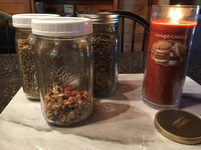 gluten free natural granola made with nuts