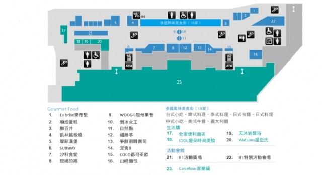 汐止美食推薦-B1食尚生活【IFG遠雄購物中心/遠雄U-TOWN】
