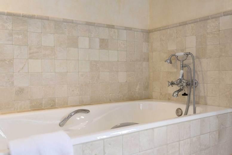 detail of bath