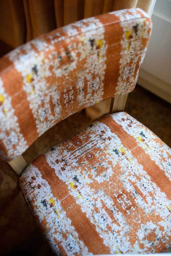 detail of a chair