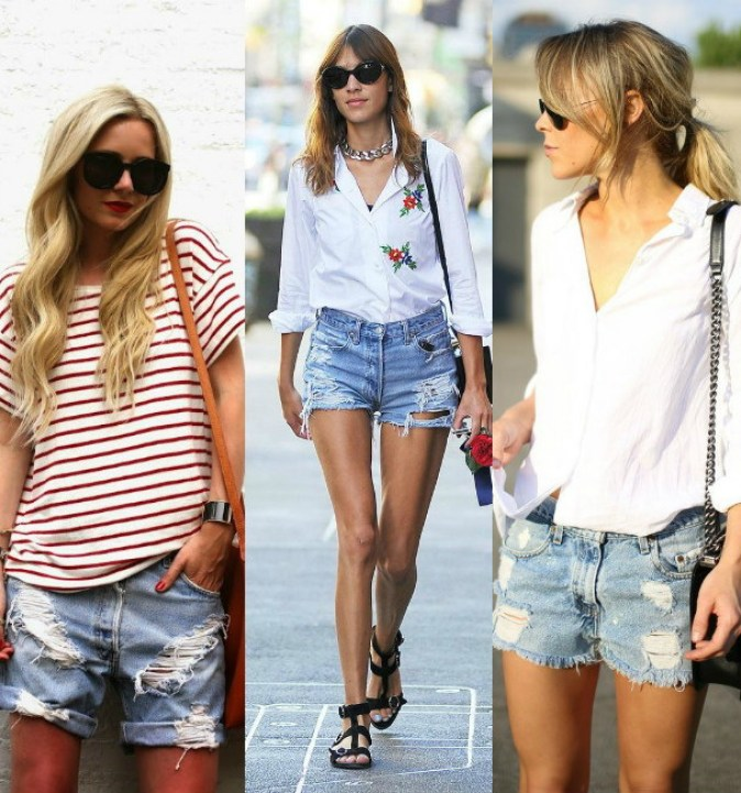 Denim-Shorts-Are-In-Style-For-Summer-2015-1
