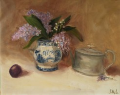 *2015-21-Floral.Lilac.Hale.Lilac in Blue Flow Sugar Bowl