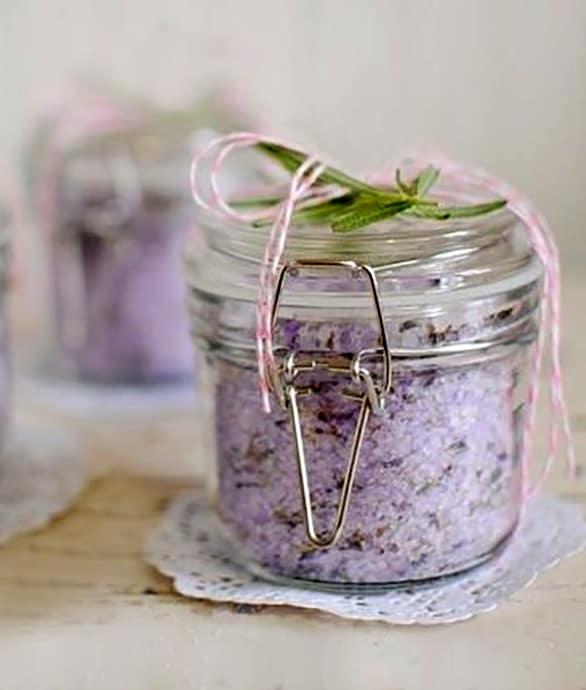 Sali da bagno alla lavanda homemade sonia paladini food and lifestyle blog italy - Porta sali da bagno ...