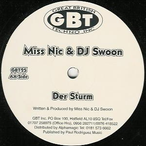 Miss Nic & DJ Swoon - Voices / Der Sturm