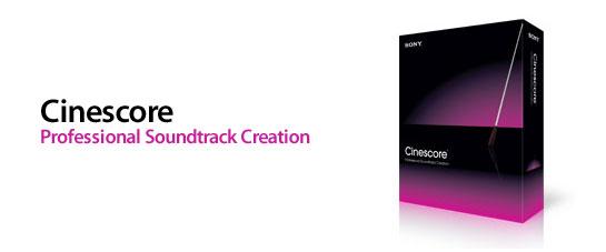Sony Cinescore - программный продукт для создания профессиональных саундтре