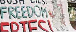 Bus Lies Freedom Fries