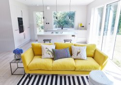 Top Yellow Living Room A Canary Yellow Velevet Sofa Adds Pop Ofcolour To An Yellow Living Room A Canary Yellow Velevet Sofa Adds Pop Interior Living Room Pinterest Interior Living Room Lighting