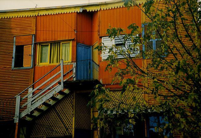 La Boca's colours