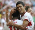 Maza anotó su primer gol en la Bundesliga