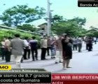 Sismo de 8.7 grados sacude Indonesia