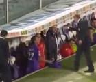 Director técnico agrede a uno de sus jugadores y es despedido