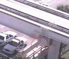 La muerte del hombre desnudo que masticaba una cara en la autopista